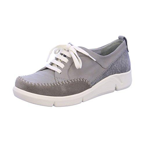Pour Lt Da Femme Scarpe Chaussures I Grigio Lt À Ville Grey Lacci De Con Sera Lacets Jana Jana Donna RwpZp