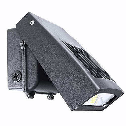 CNSUNWAY Beleuchtung led-wand-pack-licht mit dusktodawn lichtschranke, schlankes design, 090 verstellbare kopf 30w 1-packung ohne lichtschranke -