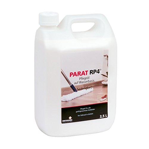 Parat RP 4 Pflegeöl wasserbasiert 2,5 Liter, Pflegeöl für alle geölten und geölt/gewachsten Böden