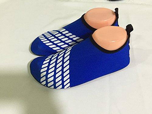 E Support™ Wasserschuhe Schwimmschuhe Surfschuhe Badeschuhe Unisex Neoprenschuhe Wassersportschuhe Strandschuhe Aquaschuhe Blau