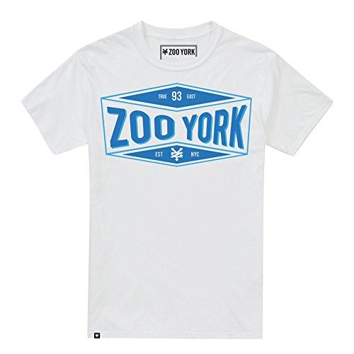 Zoo York Herren T-Shirt Concave Weiß