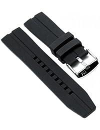 Morellato Nilo Silicone Bracelet de Montre Silikon Band noir 20mm