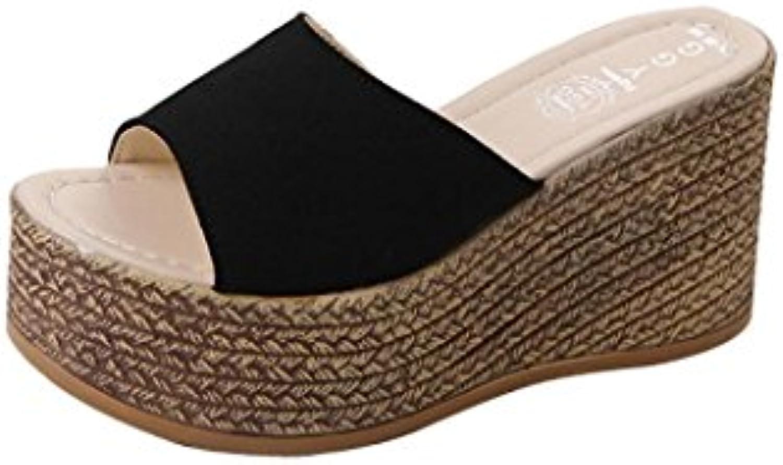8eca0460b087 Lolittas Summer Beach Boho Wedge High Heel Sandals Sandals Sandals for Women  Ladies