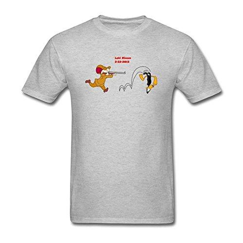 herrens-elmer-fudd-short-cotton-t-shirt-medium