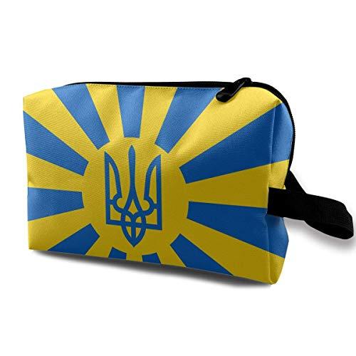 Ucrania Bandera ucraniana Bolsas de cosméticos pequeñas...