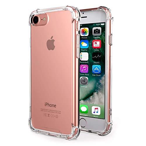 iBarbe iPhone 7Hülle Klar, anti-slippery, kratzfest, Slim, stoßdämpfend TPU Schutzhülle Gel Bumper für iPhone 7