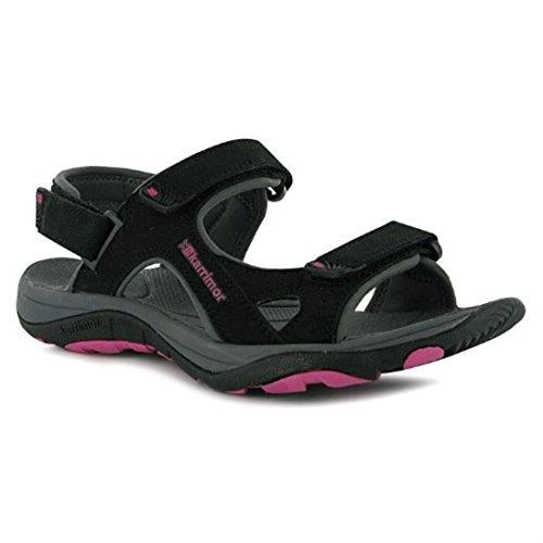 Karrimor Womens Antibes Ladies Sandals Summer Walking Shoes Footwear Black UK 6