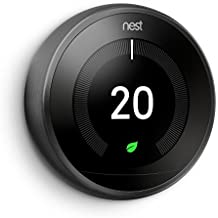 Nest Third Generation Learning Thermostat - Black