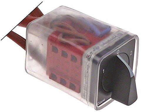 Fiorenzato Drehschalter mit PSI-Skala 6-polig 25A für Espressomaschine