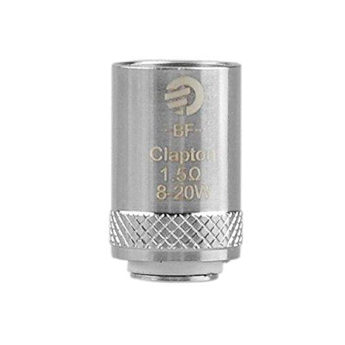Joyetech Cubis BF 1.5 Ohm SS316 Clapton Ersatz Coils (Packung von 5) 8-20W Autentisch Produkt Erhält Kein Nikotin