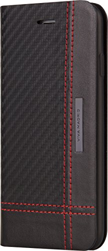 viva-madrid-grafito-cruzar-cross-red-lines-iphone-6-6s-folio-schwarz-rot-linien-langs-quer-klapphull