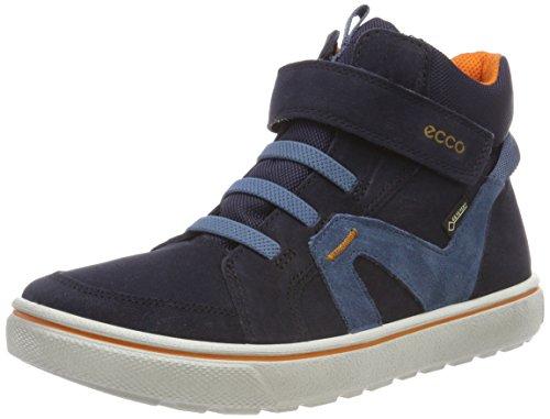Ecco Jungen Glyder Hohe Sneaker, Blau (Night Sky 1303), 27 EU