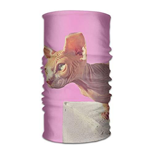 Babydo Headwear Headband Animal Head Scarf Wrap Sweatband Sport Headscarves for Men Women 9.8X19.7inches,25X50cm -