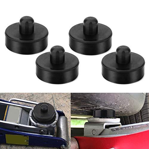 EXLECO (4 Stücke) Wagenheber Gummiauflage (Tesla Model 3) für Rangierwagenheber und Universal Gummiauflage für PKW/SUV Robust und Praktisch Ideal für Auto Tuning