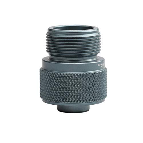 Delicacydex Gasbrenner Adapter Lindal Ventil Kanister zu 1L Green Propan Tank oder MAPP Gaskonverter Outdoor Camping Herd Brenner Adapter (Kleine Propan Laterne)