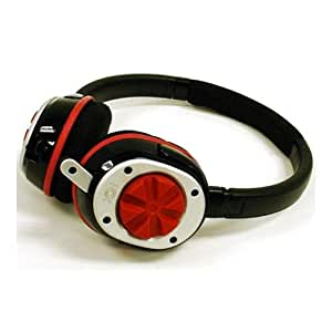 Nox Audio Specialist Gaming Headset (Red) for listening to music on your iPod and iPhone as well as gaming, Xbox 360 and Sony PS3; Skype or chatting on your PC