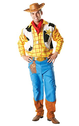 Rubie 's Offizielles Woody Kostüm Toy Story, Erwachsene Kostüm–Standard Größe (Erwachsene Woody Kostüme)