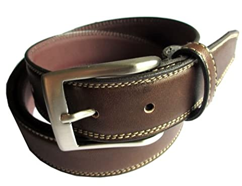 Handmade in Spain - 100% Genuine Stiched Quality Leather Gents