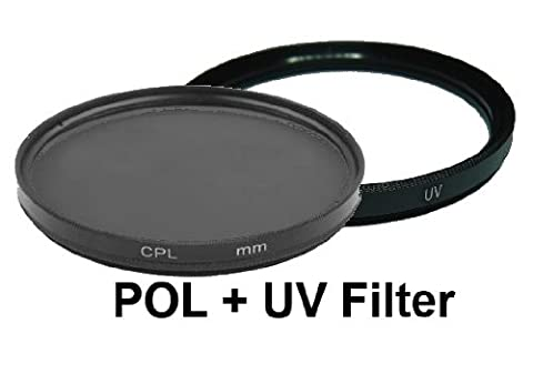 equipster UV + Polfilter Set für Zeiss Distagon T* 3.5 18mm ZF.2