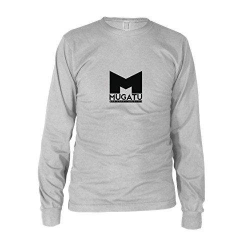 Mugatu - Herren Langarm T-Shirt, Größe: XXL, Farbe: weiß