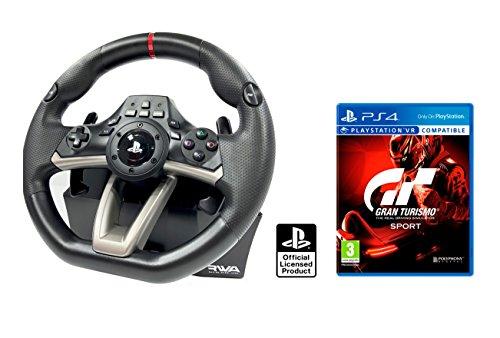 "PS4 Lenkrad und Pedale Orig. Licensed PlayStation 4 RWA Apex + Gran Turismo Sport ""GT Sport"""