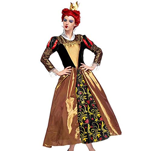 QWE Halloween kostüm pfirsich Herz königin cos Kleidung Retro Gericht kostüm Damen Zeigen - Königin Der Herzen Kostüm Bilder