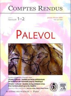 Comptes Rendus Académie des Sciences, Palevol, Tome 5, Fasc 1-2, Janvier Fevrier 2006 : Climats-Cult