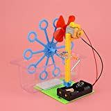 juler STEM DIY Spielzeug Selbstgemachte Blase Maschinentechnologie kleine Produktion kleine Erfindung Mädchen DIY materielle Wissenschaft experimentelles Spielzeug,Blau,Einheitsgröße