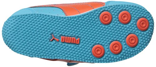 Puma Puma Speed Light Up V Inf, Sneaker bambini nero Black/Grey/Red M Blue Atoll/Mandarin