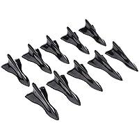 Homyl 10 Piezas Generador Vórtice de Aire Montado Techo Pieza para Coche - Negro