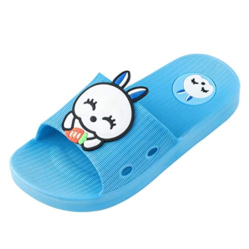 Feidaeu Kinder Cartoon Kaninchen Haus Hausschuhe Indoor Baby Slip offene zehenhaus Schuhe dusche Schuhe Outdoor Baby Schwimmschuhe Strandschuhe