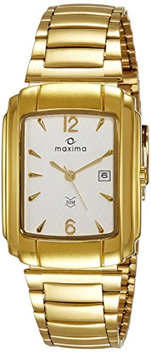 Maxima 06832CMGY FORMAL GOLD Analog Watch For Unisex