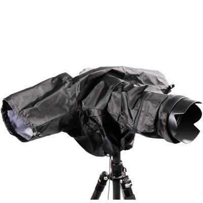 B.I.G. Kamera Tarn und Regenschutz schwarz