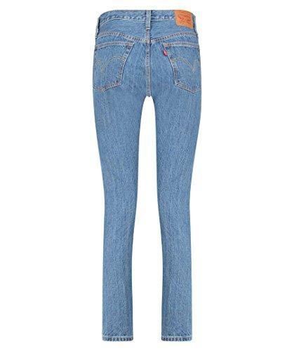 Levi's® Damen Jeans 501 Skinny Rolling Dice lang Stoned Blue