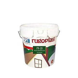 Rugoplast – Pintura economica de exteriores blanca revestimiento liso ideal para decorar los exteriores de tu casa PR-20
