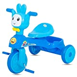 #10: GoodLuck Baybee - Children Plug and Play Happy Baby Tricycle Kid's for 1-3 Years Baby Trike Ride on Outdoor   Suitable for Babies,Boys & Girls -(Blue)