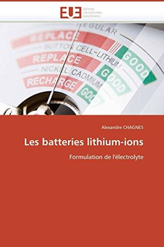 Les batteries lithium-ions