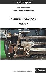Cahiers Simondon, n° 3