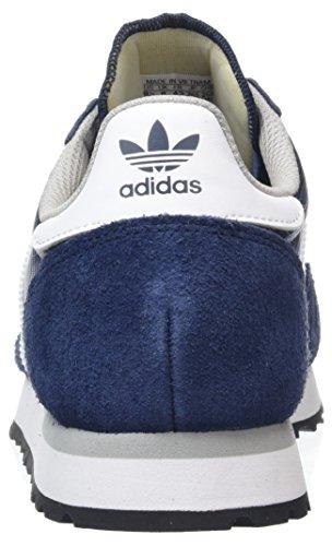 adidas Haven, Baskets Basses Homme Bleu (Collegiate Navy/Footwear White/Clear Granite)