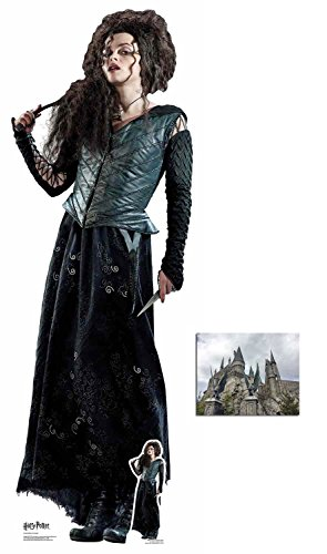 Carters Kostüm - BundleZ-4-FanZ by Starstills Bellatrix Lestrange (Helena Bonham Carter) Harry Potter Lebensgrosse und klein Pappaufsteller/Stehplatzinhaber/Aufsteller mit 25cm x 20cm foto