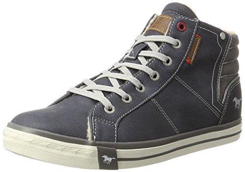 Mustang Herren 4096-601-800 Hohe Sneaker, Blau (Dunkelblau), 41 EU