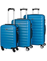 ITACA - 71200 Maletas Trolley 50-60 - 70 cm ABS. Expandibles. Rígidas