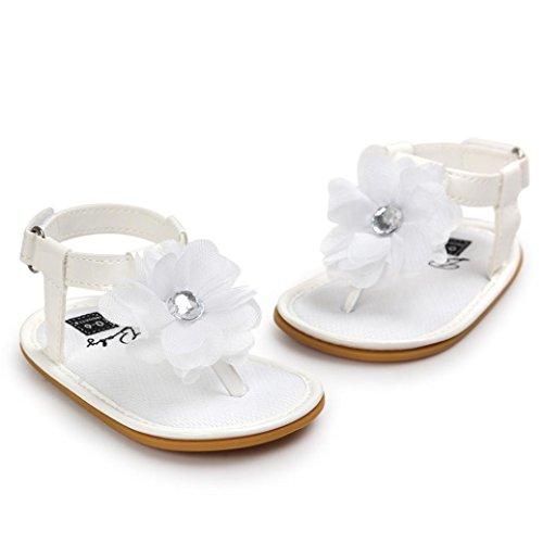 Baby Schuhe, für 0-18 Monate, Moonuy Mädchen Lauflernschuhe Sneaker Weiß