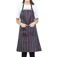 Woman Dress Jaminy Women Cooking Chef Kitchen Restaurant Bib Apron Dress Pocket Apron