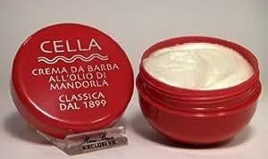 CELLA barba da-italienne crème à raser à l'huile d'amande douce