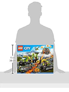 LEGO 60124 City Volcano Exploration Base Building Toy by LEGO UK Limited