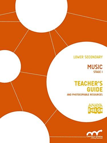 Music. Stage I. Teacher ' s Guide. (Anaya English)