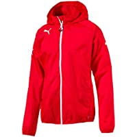 Puma Rain Jacket Chaqueta Impermeable, Hombre, Red/White, XL