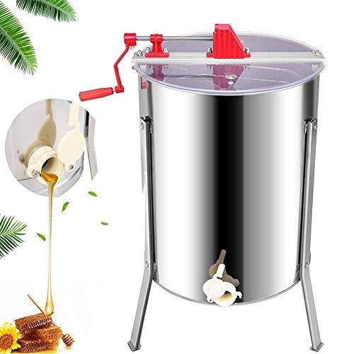 EFGS Acier Inoxydable Extracteur De Miel(Manuel 4 Cadres) centrifugeuse Équipement D'apiculture