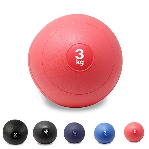 POWRX Slam Ball Balón Medicinal 3-20 kg - Ideal Ejercicios